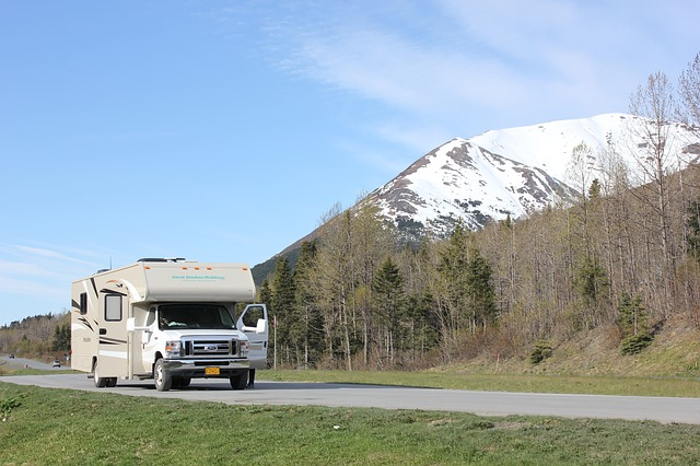 Can you sleep in RV while driving